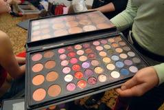 χρωματίζει makeup Στοκ εικόνες με δικαίωμα ελεύθερης χρήσης