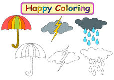 Χρωματίζοντας βιβλίο για τα παιδιά Στοκ φωτογραφία με δικαίωμα ελεύθερης χρήσης