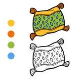 Χρωματίζοντας βιβλίο, μαξιλάρι