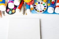 Χρωματίζοντας εξοπλισμός στοκ εικόνες