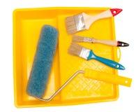 χρωματίζοντας εργαλεία Στοκ Φωτογραφία