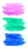 χρωματίζοντας λωρίδες Στοκ εικόνα με δικαίωμα ελεύθερης χρήσης