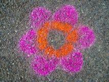 χρωματίζοντας οδός Στοκ Εικόνες