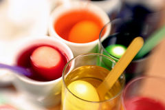 χρωματίζοντας Πάσχα αυγό 08 Στοκ εικόνες με δικαίωμα ελεύθερης χρήσης