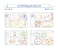 Χρωματίζοντας σελίδες για τα παιδιά Στοκ Φωτογραφία