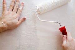 χρωματίζοντας τοίχος Στοκ εικόνα με δικαίωμα ελεύθερης χρήσης
