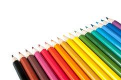 χρωματίστε τα μολύβια Στοκ Φωτογραφίες