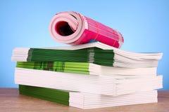 χρωματίστε τα περιοδικά στοκ εικόνα με δικαίωμα ελεύθερης χρήσης