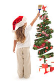 Χρωματίστε τα Χριστούγεννά σας στα μαγικά φω'τα στοκ φωτογραφίες
