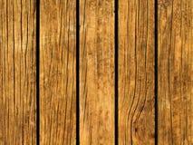 Χρωματίστε την ξύλινη ανασκόπηση Καφετιά ξύλινη σύσταση με τις κάθετες γραμμές Στοκ Φωτογραφία