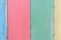 Χρωματίστε την ξύλινη ανασκόπηση Στοκ φωτογραφίες με δικαίωμα ελεύθερης χρήσης