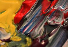 χρωματίστε τον κόσμο μου Στοκ Εικόνες