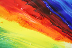 χρωματίστε το ελαιόχρωμα διανυσματική απεικόνιση
