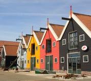 Χρωματισμένα αποθήκες εμπορευμάτων και smokehouse Στοκ Εικόνες