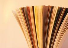 χρωματισμένα αρχεία Στοκ εικόνα με δικαίωμα ελεύθερης χρήσης