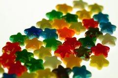 χρωματισμένα αστέρια στοκ φωτογραφία με δικαίωμα ελεύθερης χρήσης
