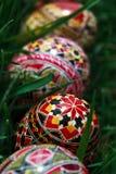 Χρωματισμένα αυγά Πάσχας 3 στοκ εικόνα