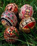 Χρωματισμένα αυγά Πάσχας 24 στοκ φωτογραφίες