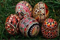 Χρωματισμένα αυγά Πάσχας 21 στοκ φωτογραφίες