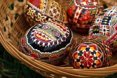 Χρωματισμένα αυγά Πάσχας 2 στοκ εικόνες