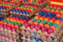 χρωματισμένα αυγά Πάσχας Στοκ Εικόνα