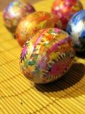 χρωματισμένα αυγά Πάσχας Στοκ εικόνες με δικαίωμα ελεύθερης χρήσης