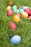 χρωματισμένα αυγά Στοκ εικόνα με δικαίωμα ελεύθερης χρήσης