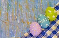 χρωματισμένα αυγά στοκ εικόνες