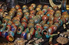 Χρωματισμένα δαχτυλίδια Στοκ εικόνα με δικαίωμα ελεύθερης χρήσης