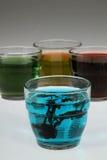 χρωματισμένα γυαλιά Στοκ Εικόνες