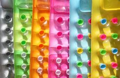 χρωματισμένα διογκώσιμα &sigm Στοκ Φωτογραφίες