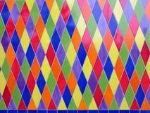 χρωματισμένα κεραμίδια Στοκ Φωτογραφίες