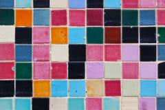 χρωματισμένα κεραμίδια Στοκ εικόνα με δικαίωμα ελεύθερης χρήσης