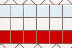 χρωματισμένα κεραμίδια Στοκ φωτογραφία με δικαίωμα ελεύθερης χρήσης