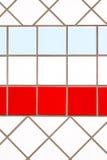 χρωματισμένα κεραμίδια Στοκ Φωτογραφία