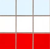 χρωματισμένα κεραμίδια Στοκ φωτογραφίες με δικαίωμα ελεύθερης χρήσης