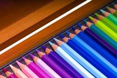 χρωματισμένα κιβώτιο μολύ&bet Στοκ Φωτογραφία