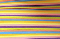 Χρωματισμένα κομμάτια χαρτί στοκ φωτογραφίες