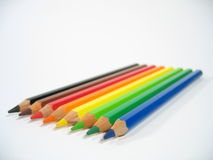 χρωματισμένα κραγιόνια ΙΙΙ στοκ φωτογραφία με δικαίωμα ελεύθερης χρήσης