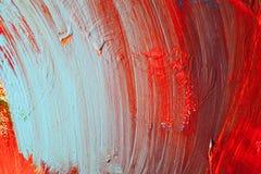 Χρωματισμένα κτυπήματα χρωμάτων αφηρημένη ανασκόπηση τέχνης Λεπτομέρεια ενός έργου της τέχνης Σύγχρονη τέχνη ζωηρόχρωμη σύσταση π Στοκ Εικόνες