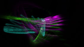 Χρωματισμένα κτυπήματα απόθεμα βίντεο