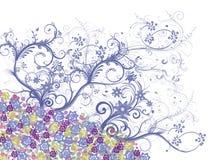 Χρωματισμένα λουλούδια Στοκ Φωτογραφίες