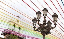 Χρωματισμένα λωρίδες για τη γιορτή του SAN Roque Στοκ Φωτογραφία