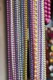 χρωματισμένα μαργαριτάρια Στοκ εικόνα με δικαίωμα ελεύθερης χρήσης