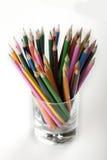 χρωματισμένα μολύβια κο&upsilon στοκ εικόνα με δικαίωμα ελεύθερης χρήσης