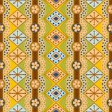 χρωματισμένα μοτίβα διάφορ& Στοκ Εικόνες