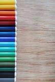 χρωματισμένα μολύβια Στοκ Φωτογραφία