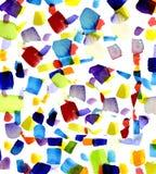 χρωματισμένα μπαλώματα Στοκ φωτογραφία με δικαίωμα ελεύθερης χρήσης
