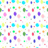 Χρωματισμένα μπαλόνια και αστέρια Στοκ εικόνα με δικαίωμα ελεύθερης χρήσης