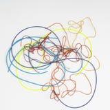 Χρωματισμένα νήματα Στοκ Εικόνα